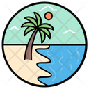 Beach View Icon