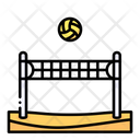 Beach Volleyball Sports Team Sports Icon