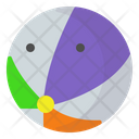 Beachball Beach Ball Icon
