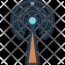 Beacons Signals Internet Icon