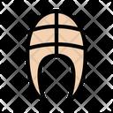 Beaf Steak Skeleton Icon