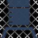Beaker Beaker Stand Experiment Icon