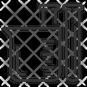 Beaker Cc Cubic Centimeters Icon