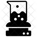 Lab Experiment Beaker Toxic Material Icon