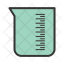 Beaker Experiment Research Icon