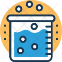 Chemical Reaction Experiment Icon