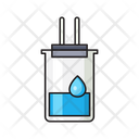 Beaker Flask Experiment Icon