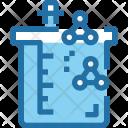 Beaker Science Experiment Icon