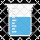 Beaker Chemical Medical Icon