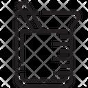 Beaker Flask Test Icon