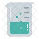 Beakers Equipment Laboratory Icon