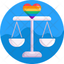 Beam Balance Gay Homosexual Icon