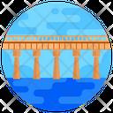 Beam Bridge Stringer Bridge Footbridge Icon