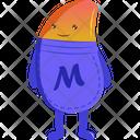 Bean Man Icon