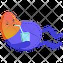 Drinking Bean Icon