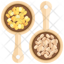 Bean Oat Meal Healthy Icon