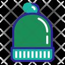 Beanie Christmas Wool Icon