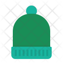 Beanie Christmas Wool Icon