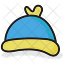 Bobble Cap Cap Winter Cap Icon