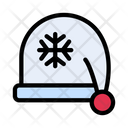 Beanie Hat Christmas Icon