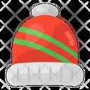 Bobble Cap Cap Winter Cap Icon