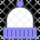 Beanie Hat Knit Icon