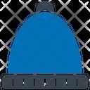 Beanie Head Wear Knitted Cap Icon