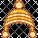 Beanie Hat Winter Icon