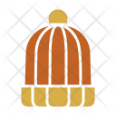 Beanie Knitted Cold Icon