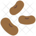 Beans Seeds Food Icon
