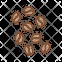 Coffee Beans Energy Icon