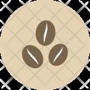 Beans Retro Coffee Icon