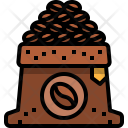 Beans Seed Bag Icon