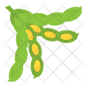 Lima Beans Vegetable Icon