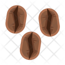 Beans Rosting Coffee Icon