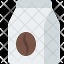 Coffee Bag Beans Icon