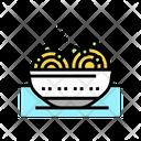 Food Peas Color Icon