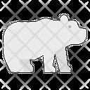 Bear Polar Zoo Icon