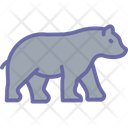 Bear Grizzly Wildlife Icon
