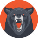 Bear Mammal Animal Icon