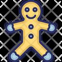 Bear Gingerbread Gingerman Icon