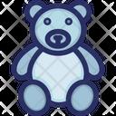 Bear Soft Stuffed Icon