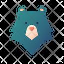 Bear Animal Camp Icon