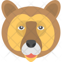 Grizzling Bear Brown Icon