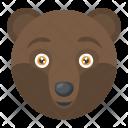 Brown Bear Animal Icon