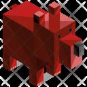 Bear Animal Isometric Icon