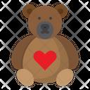 Bear Animal Teddy Icon