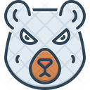 Bear Omnivores Animal Grizzly Icon