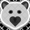 Bear Teddy Face Icon