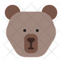 Bear Grizzly Animal Icon